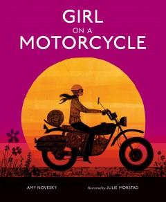 Girl on a motorcycle by Novesky, Amy