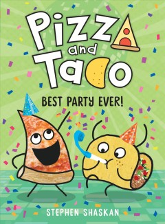 Pizza and Taco.  Best party ever! by Shaskan, Stephen