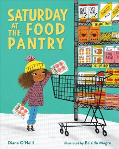 Saturday at the food pantry by O'Neill, Diane