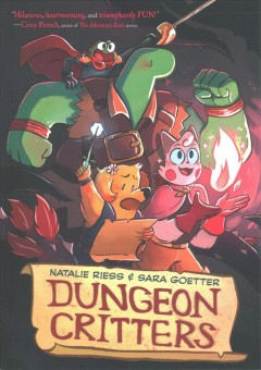 Dungeon critters by Riess, Natalie