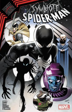 Symbiote Spider-Man.  King in black by David, Peter