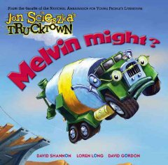 Melvin might? by Scieszka, Jon.