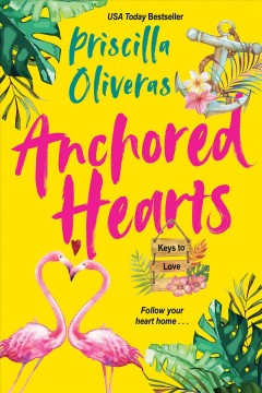 Anchored hearts by Oliveras, Priscilla