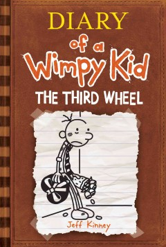 Diary of a wimpy kid.  The third wheel by Kinney, Jeff