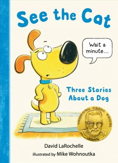 See the cat : three stories about a dog by LaRochelle, David