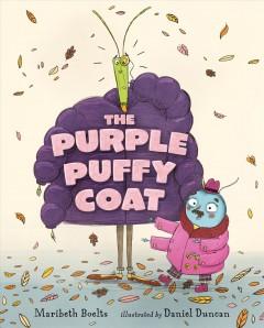 The purple puffy coat by Boelts, Maribeth
