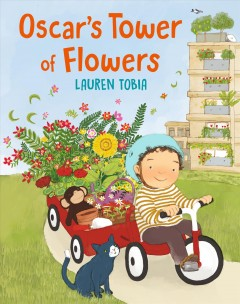 Oscar's tower of flowers by Tobia, Lauren