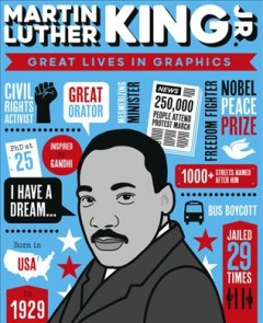 Great Lives in Graphics: Martin Luther King by Books, Button