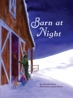 Barn at night by Houts, Michelle.