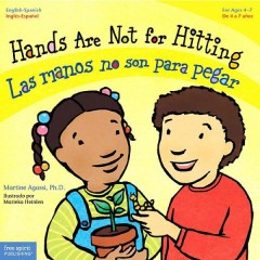 Hands are not for hitting = Las manos no son para pegar by Agassi, Martine
