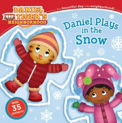 Daniel plays in the snow by Friedman, Becky